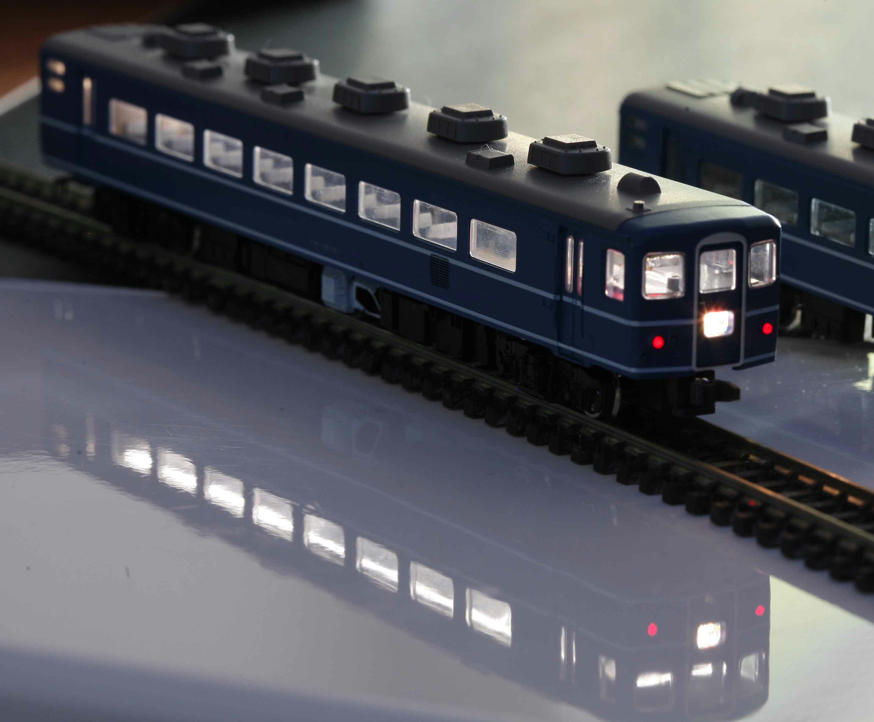 Train model lighting set for HO gauge